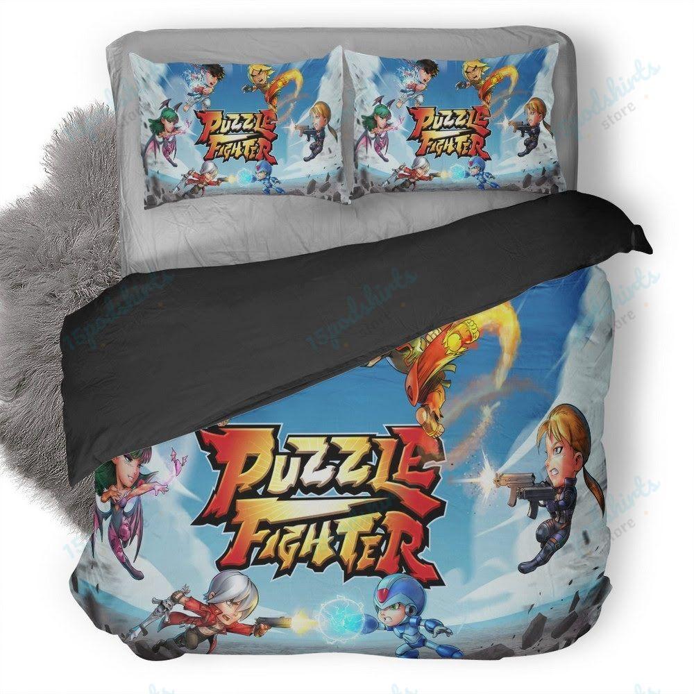 Puzzle Fighter 2017 Duvet Cover Bedding Set