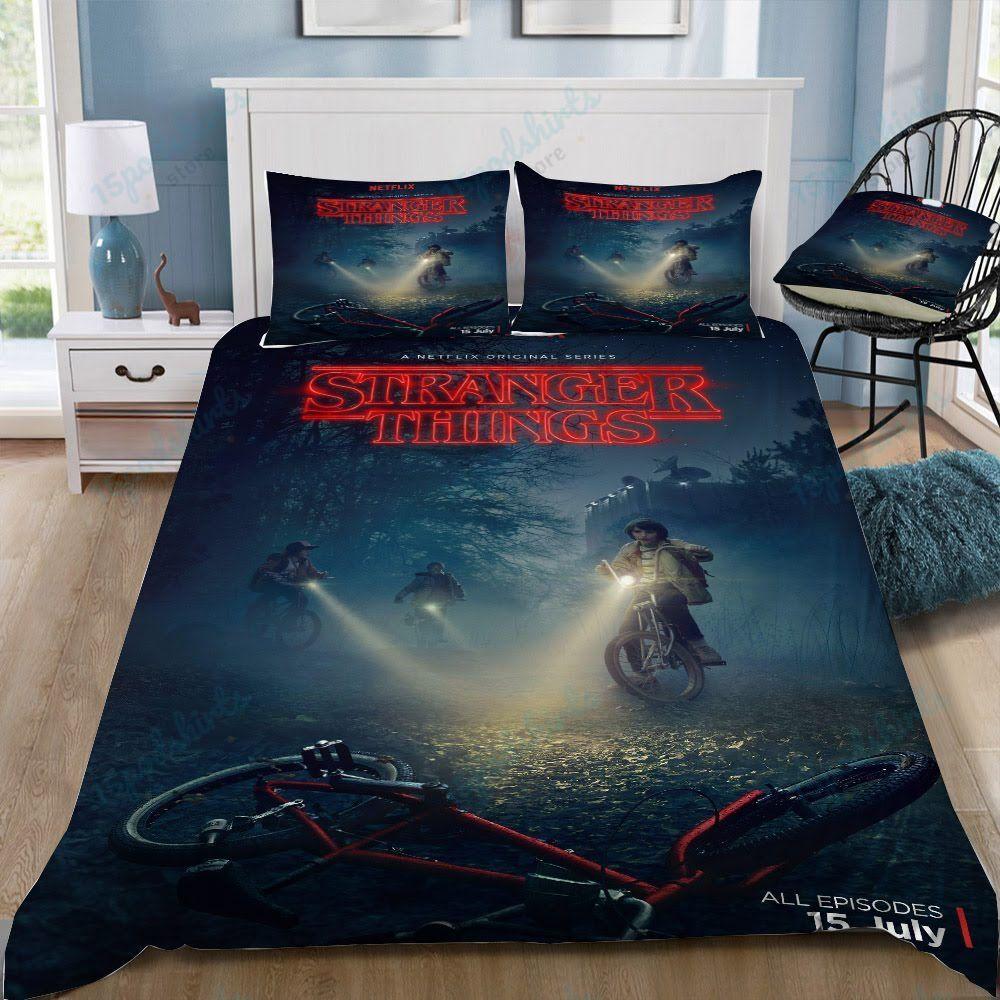 Stranger Things 12 Duvet Cover Bedding Set