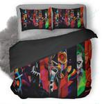 Super Heroes Minimalism Poster Duvet Cover Bedding Set