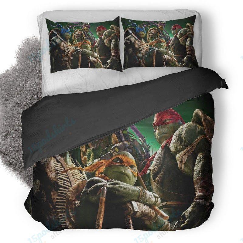 Teenage Mutant Ninja Turtles 8 Duvet Cover Bedding Set