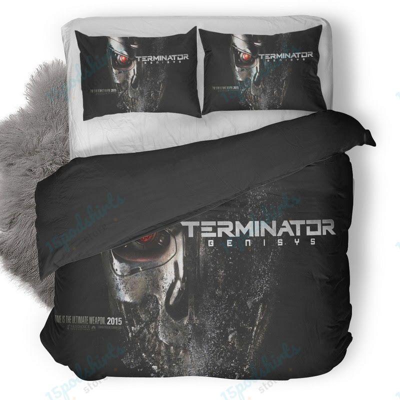 Terminator Genisys 2015 Poster Duvet Cover Bedding Set