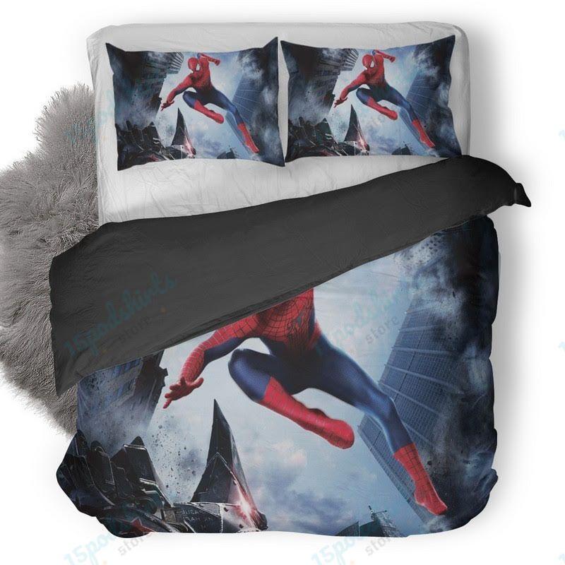 The Amazing Spider Man 3 Duvet Cover Bedding Set
