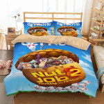 The Nut Job 2 Nutty By Nature Duvet Cover Bedding Set