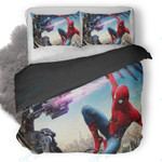 Vulture And Spiderman Homecoming 1 Duvet Cover Bedding Set