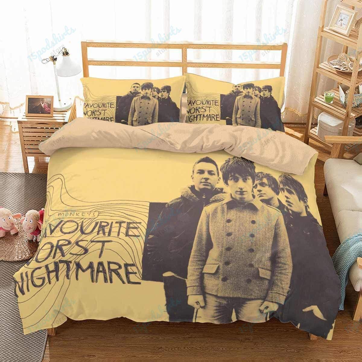 Arctic Monkeys 1 Duvet Cover Bedding Set