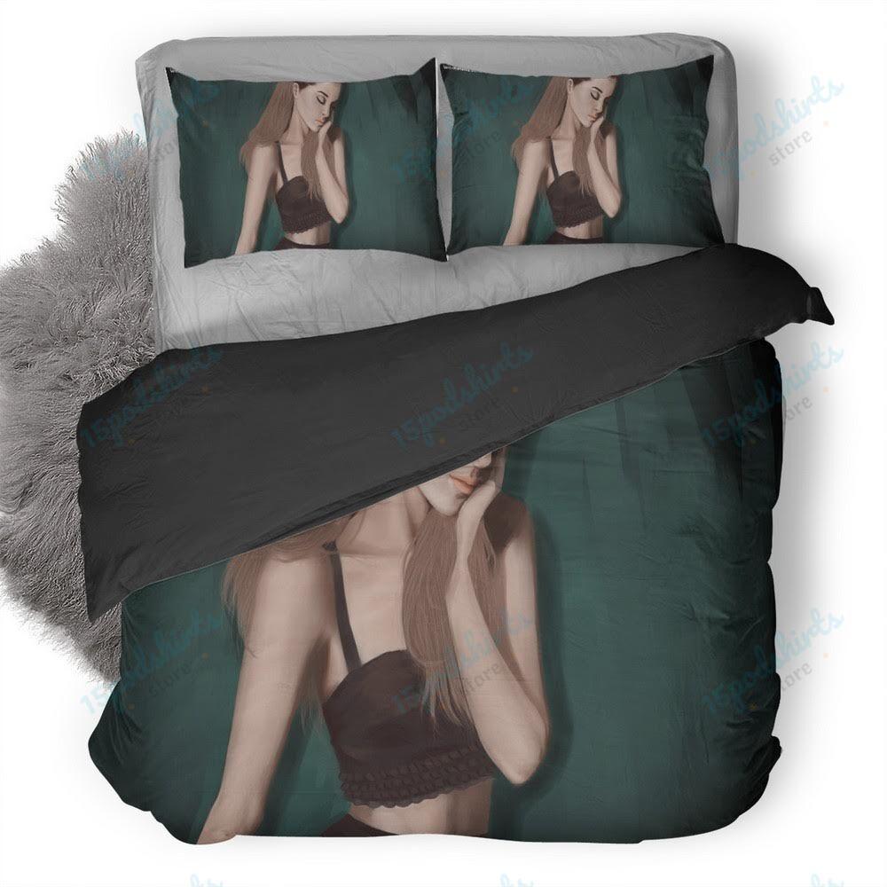 Ariana Grande Fanart 1 Duvet Cover Bedding Set