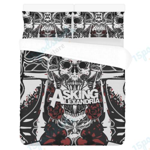 Asking Alexandria 3 Duvet Cover Bedding Set