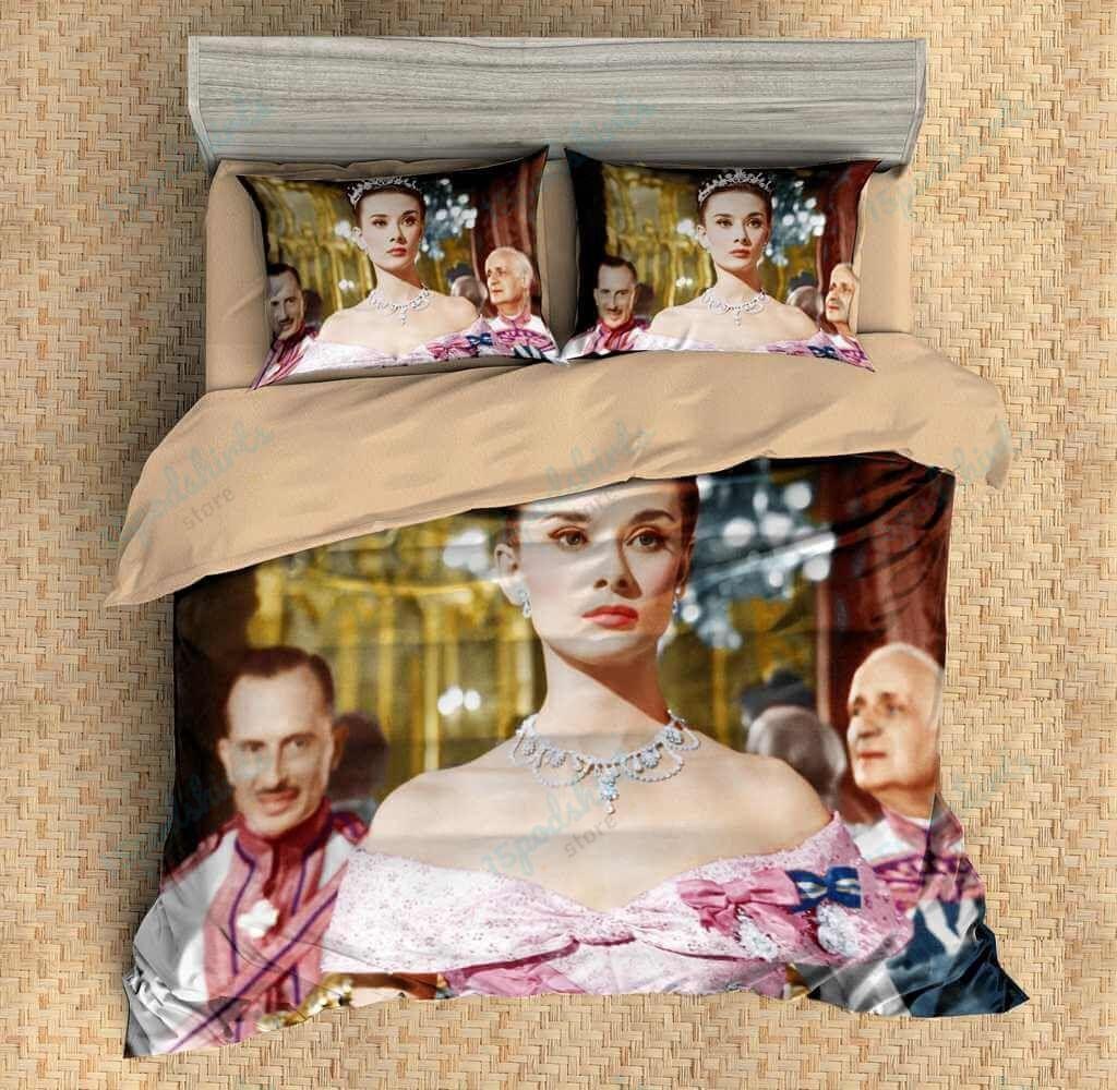 Audrey Hepburn 1 Duvet Cover Bedding Set