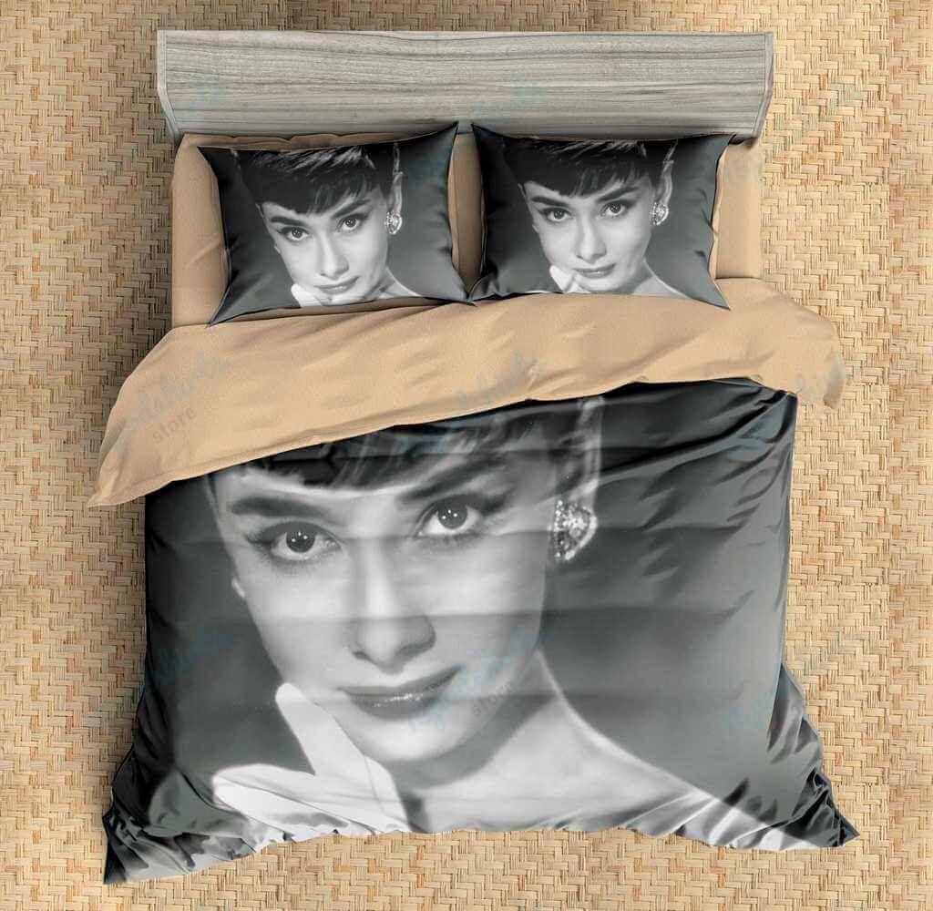 Audrey Hepburn 3 Duvet Cover Bedding Set