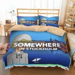 Avicii Somewhere In Stockholm Duvet Cover Bedding Set