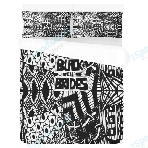 Black Veil Brides 1 Duvet Cover Bedding Set
