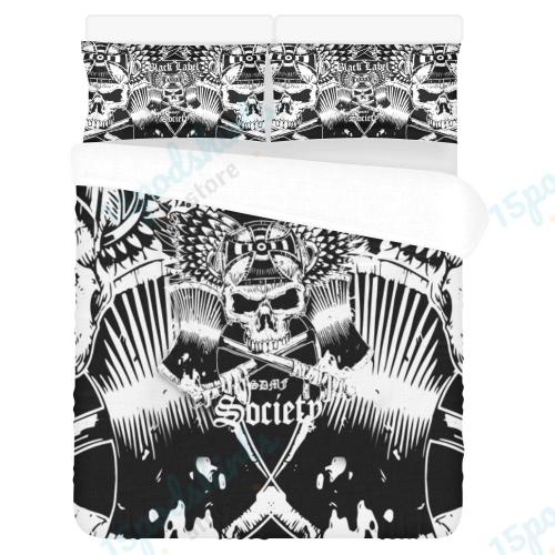 Black Label Society Duvet Cover Bedding Set