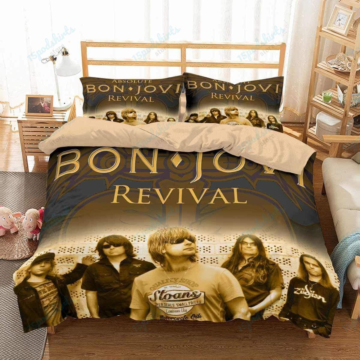 Bon Jovi 1 Duvet Cover Bedding Set