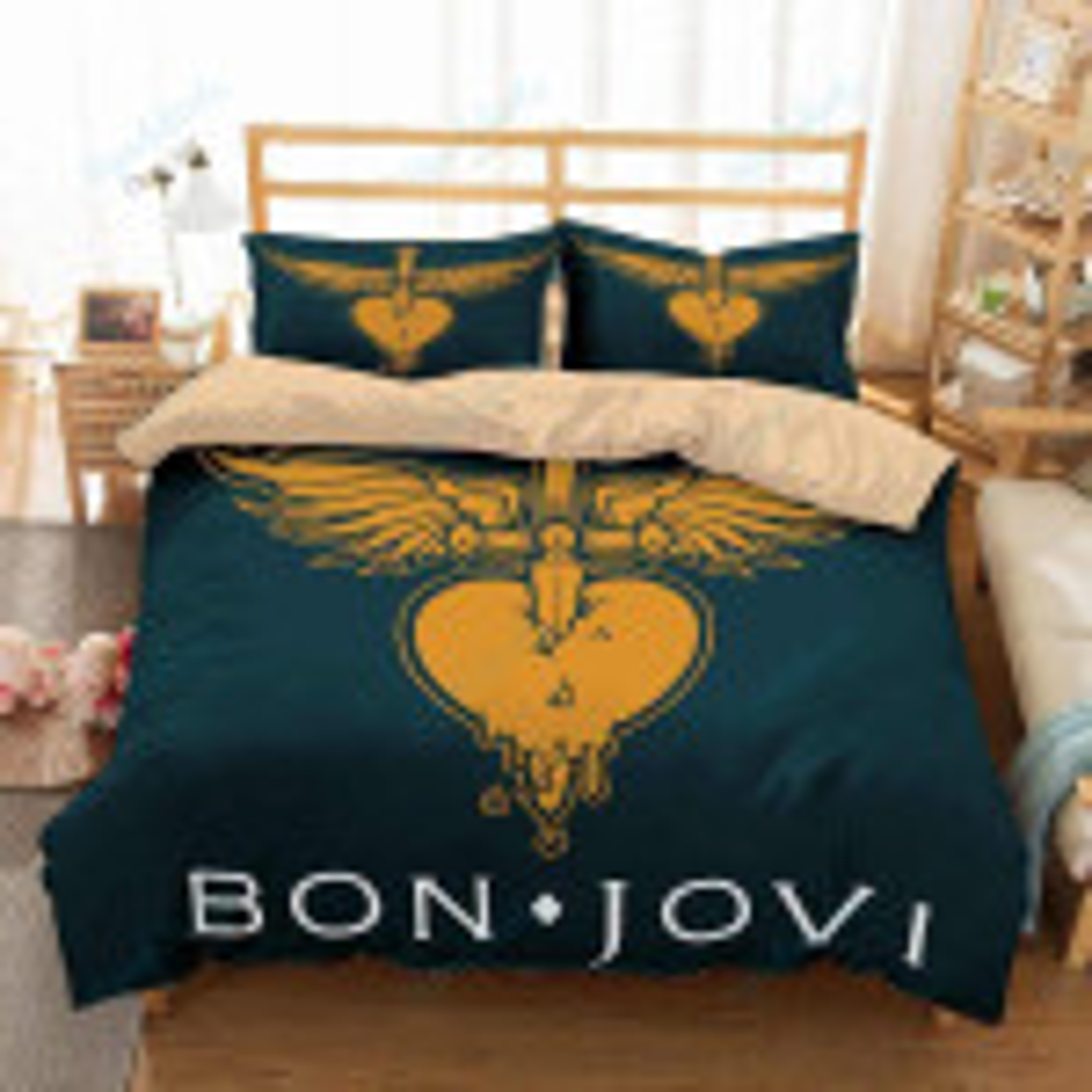 Bon Jovi 2 Duvet Cover Bedding Set