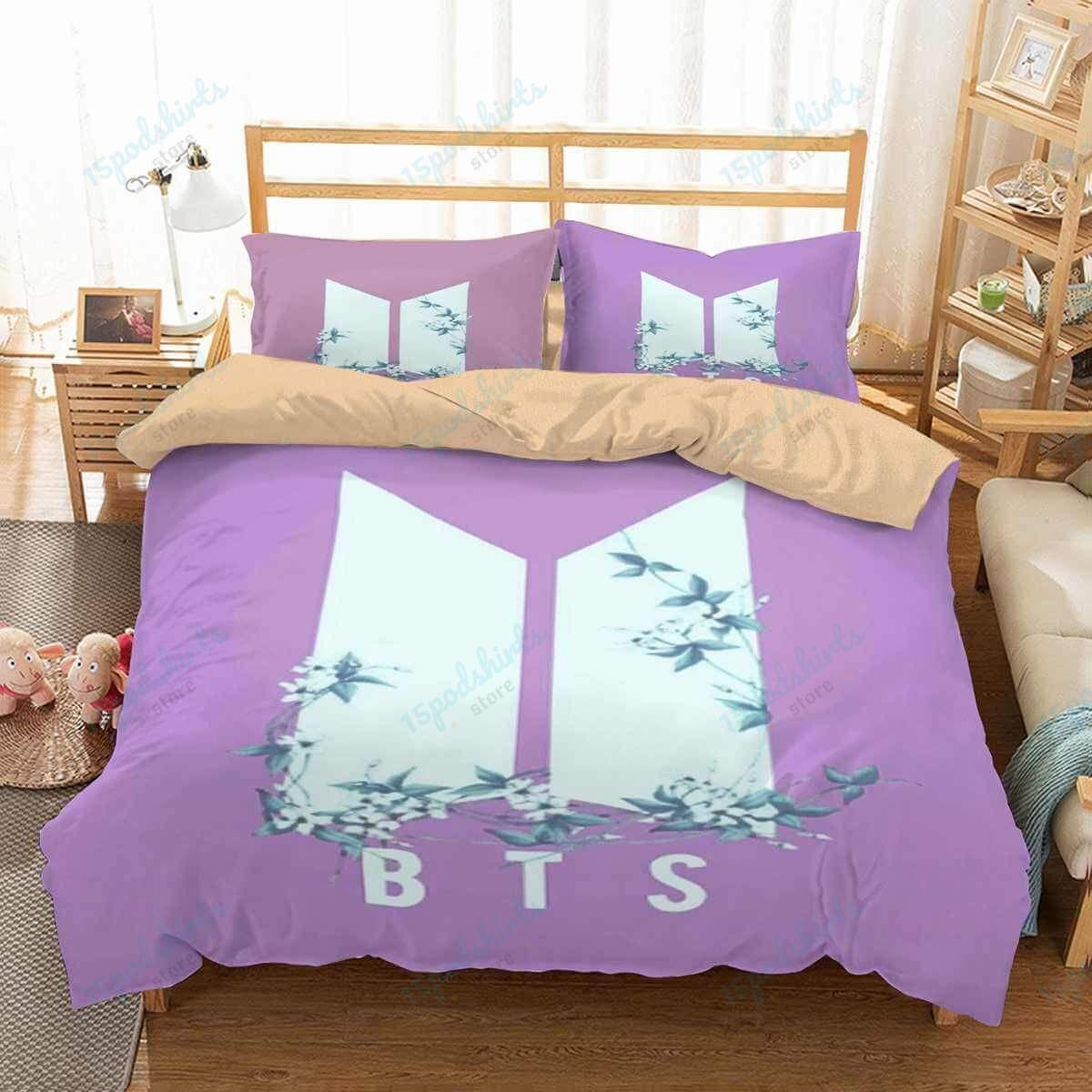 Bts 3 Duvet Cover Bedding Set