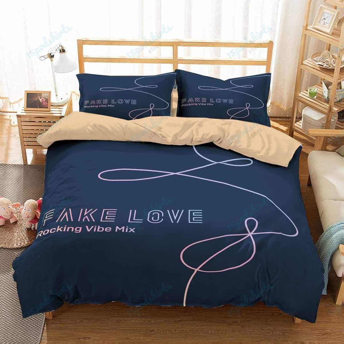 Bts 7 Duvet Cover Bedding Set