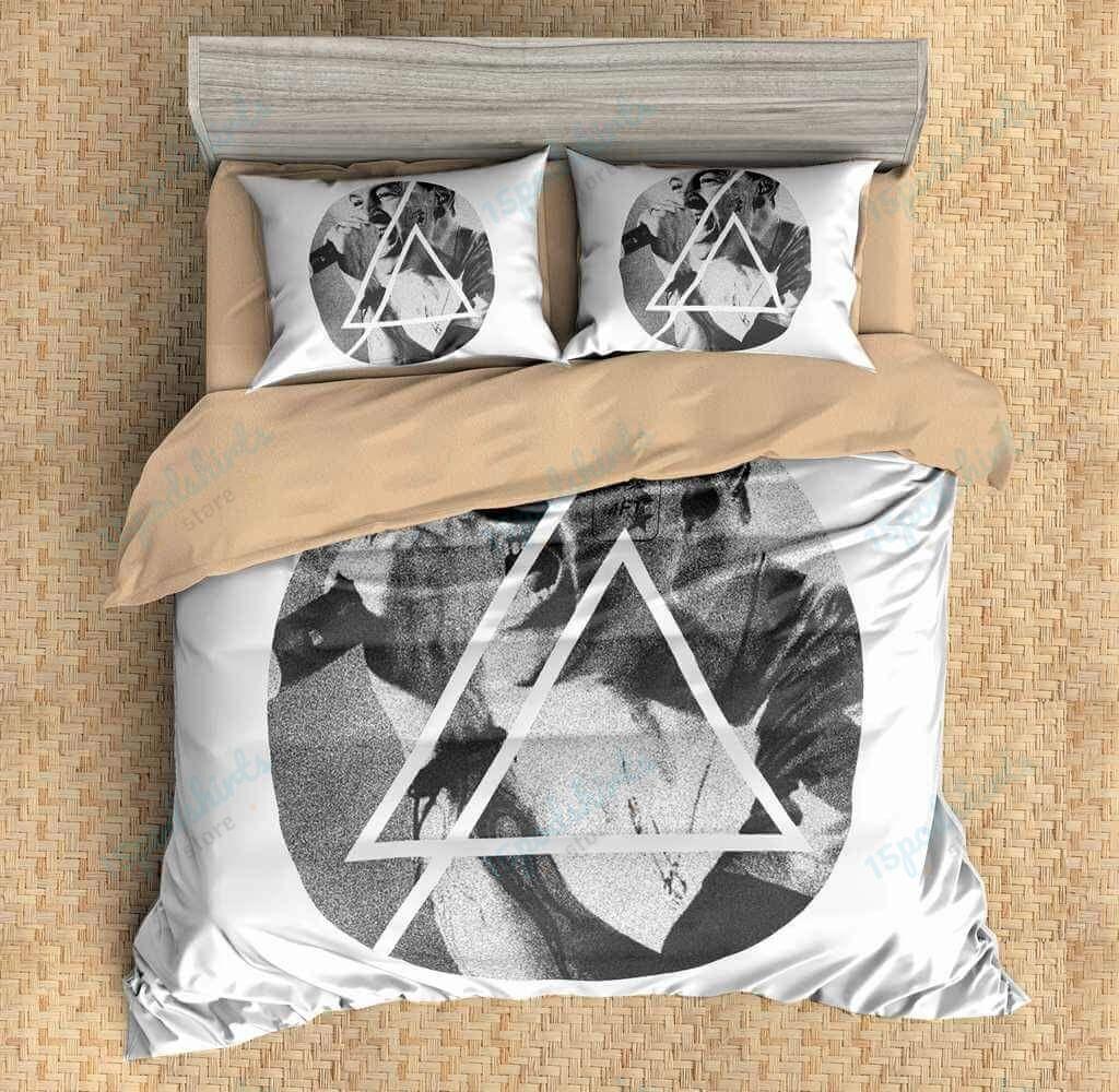 Chester Bennington Linkin Park 1 Duvet Cover Bedding Set