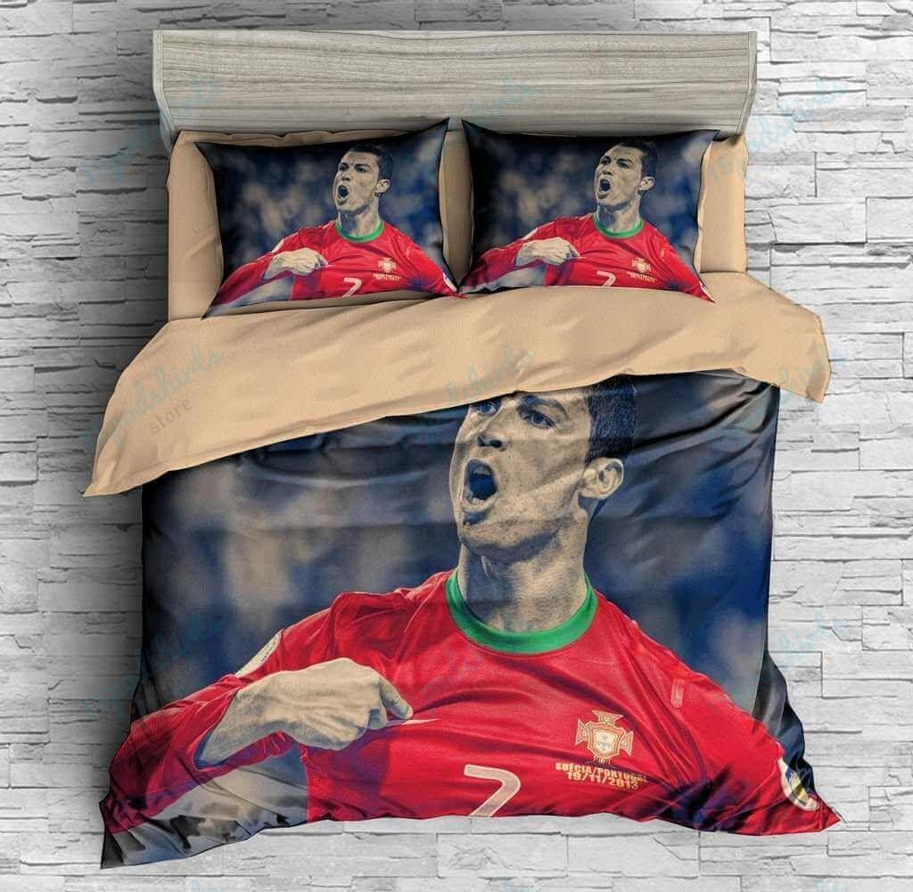 Cristiano Ronaldo 9 Duvet Cover Bedding Set