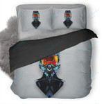 Justin Maller Art Line Helmet Duvet Cover Bedding Set
