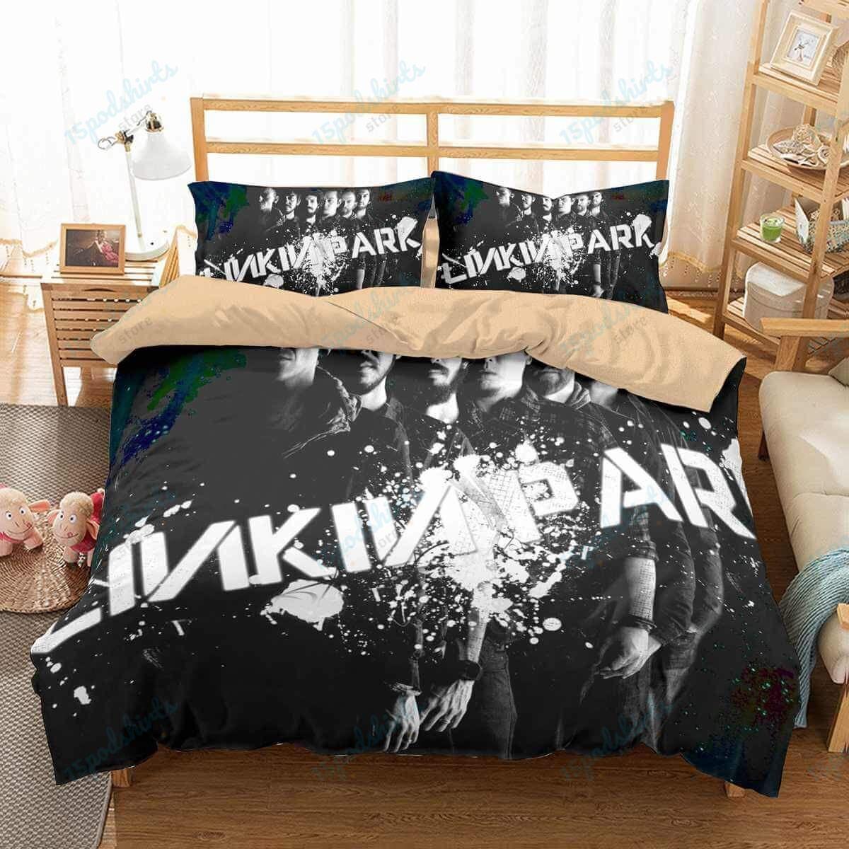 Linkin Park 1 Duvet Cover Bedding Set