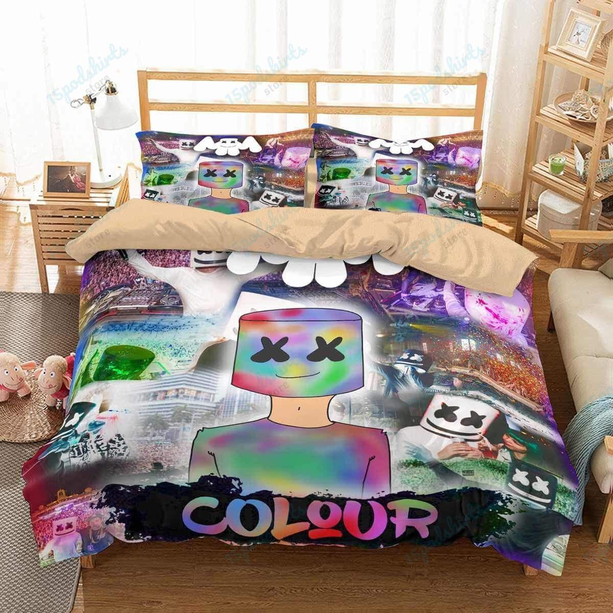 Marshmello 2 Duvet Cover Bedding Set