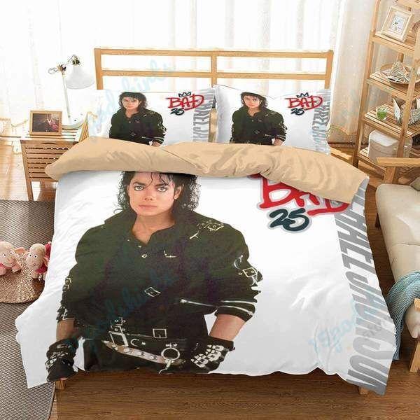 Michael Jackson Duvet Cover Bedding Set