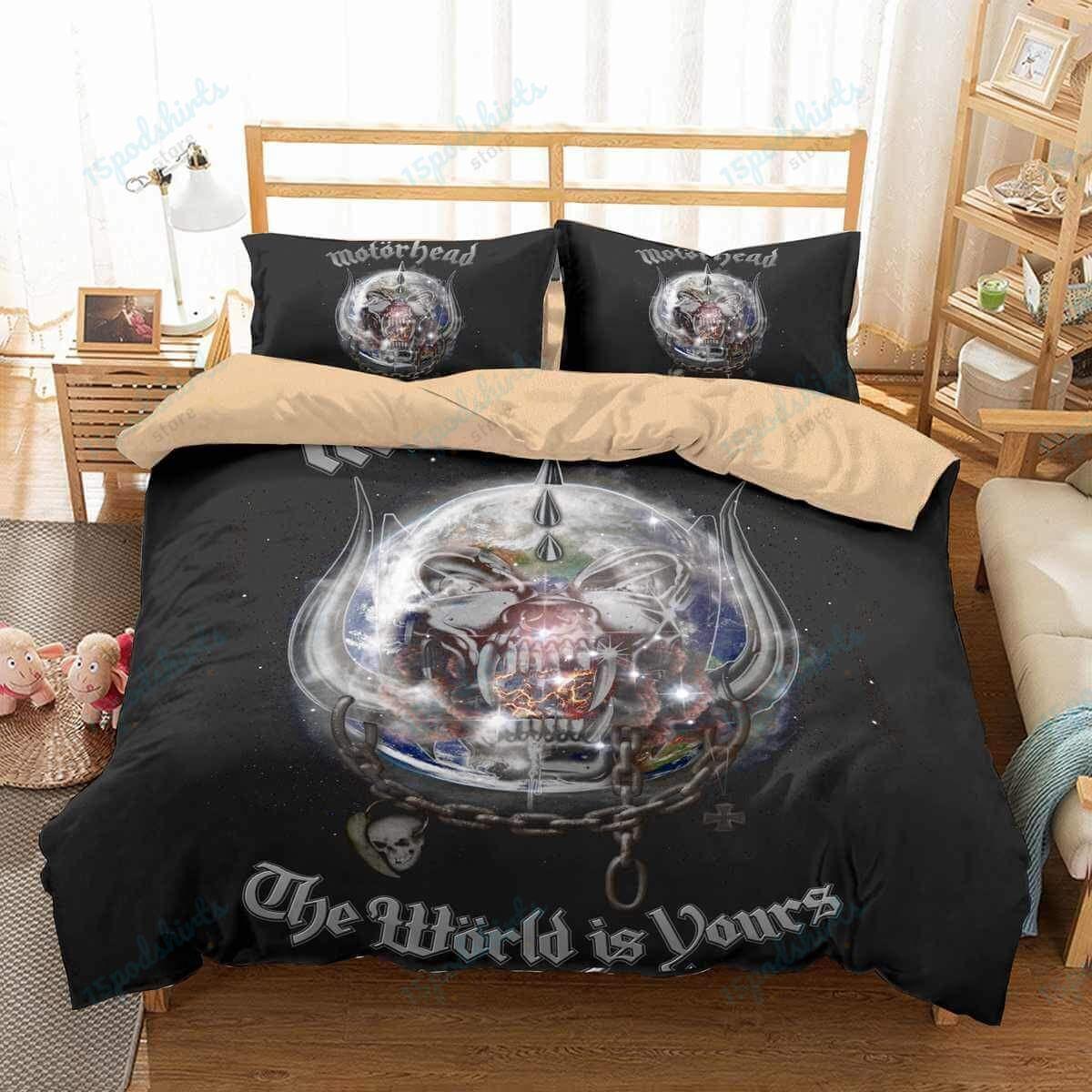 Motorhead 2 Duvet Cover Bedding Set
