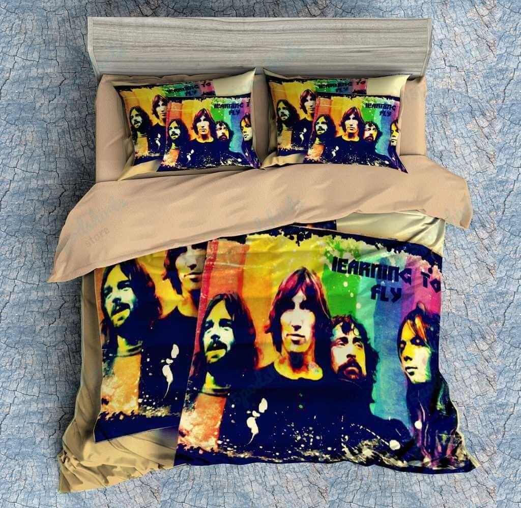 Pink Floyd 3 Duvet Cover Bedding Set