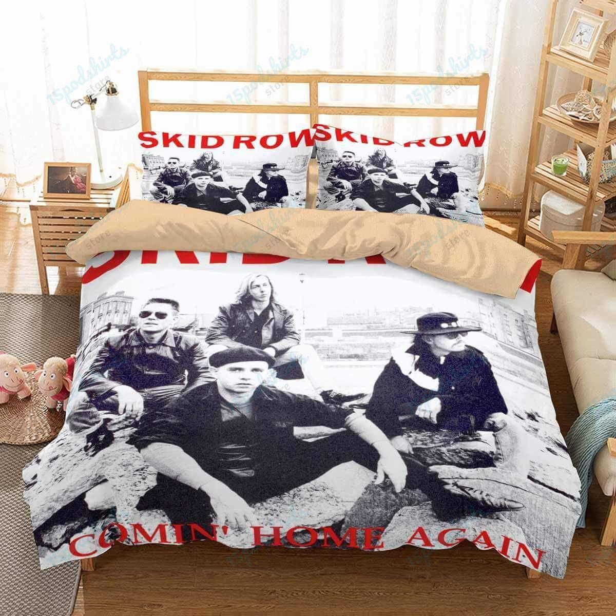 Skid Row Duvet Cover Bedding Set