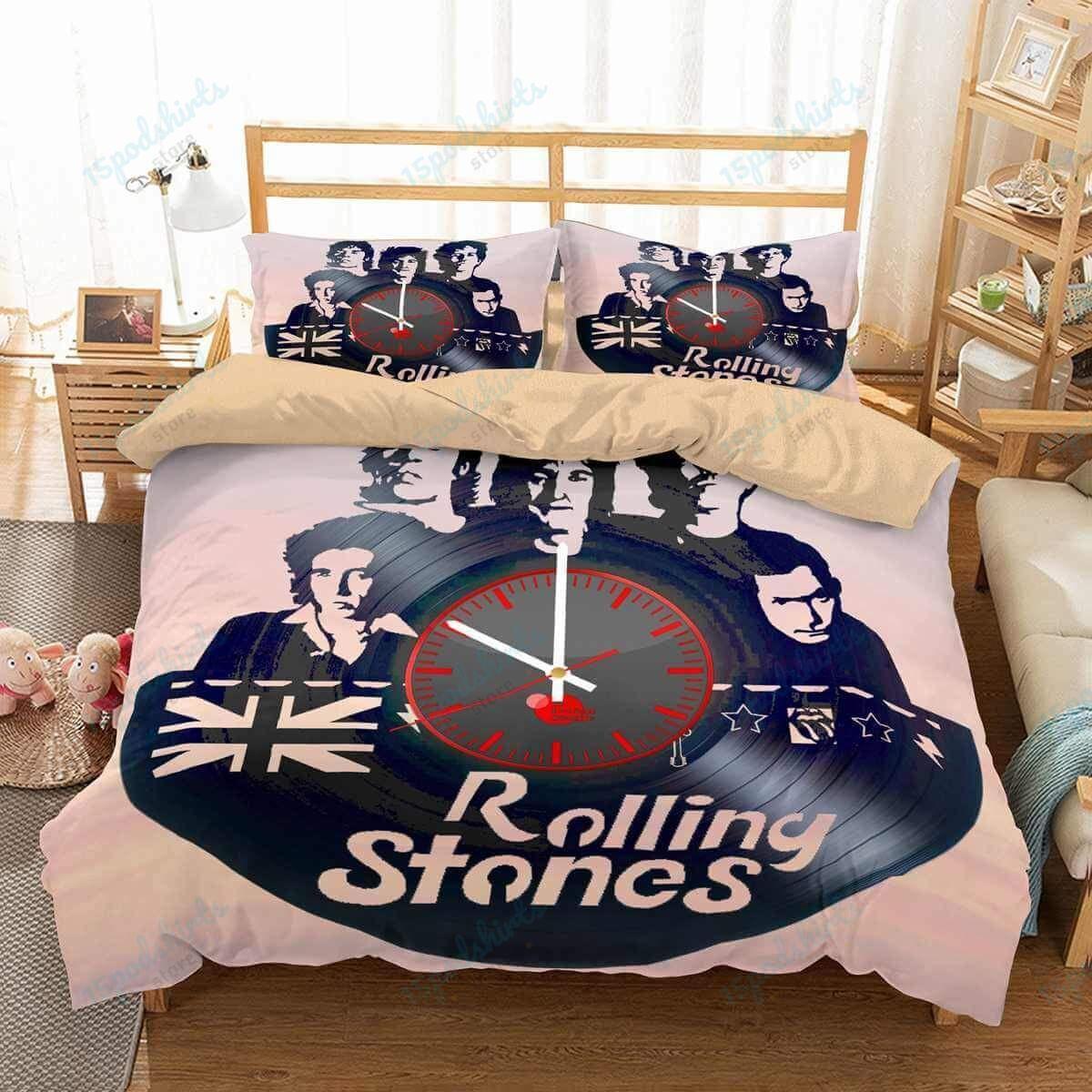 The Rolling Stones 1 Duvet Cover Bedding Set