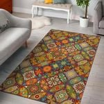 Bohemian Patchwork Print Pattern Area Limited Edition  Sku 267726 Rug