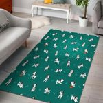 Dog Dalmatian Puppy Pattern Print Area Limited Edition  Sku 267759 Rug