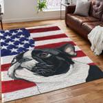 Boston Terrier American Flag Limited Edition  Sku 267774 Rug
