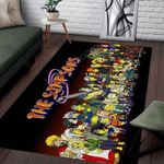 All Characters Naruto As The Simpsons Area Limited Edition  Sku 267854 Rug