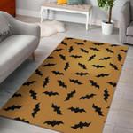 Bat Halloween Pattern Print Area Limited Edition  Sku 267926 Rug