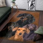Dachshund Rectangle Limited Edition  Sku 268033 Rug