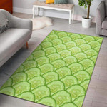 Cucumber Pattern Print Design Limited Edition  Sku 268108 Rug