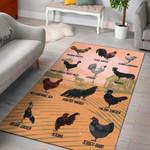 Chicken Chart Limited Edition  Sku 268149 Rug