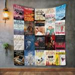 Dan Brown Books Blanket HA0910 Quilt