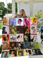 Billie Holiday Blanket HA0910 Quilt