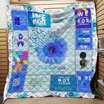 Faith Hope Love Suicide Prevention Awareness Blanket TH1909 Quilt