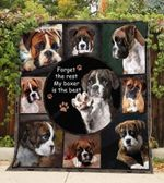 Boxer My Boxer Is The Best Blanket Quilt