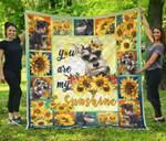 Schnauzer Dog Blanket Quilt