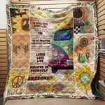 Today Is A Good Day Hippie Blanket TH1909 Quilt