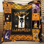 Happy Llamaween Blanket TH1909 Quilt