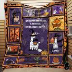 Llama Halloween Blanket TH1909 Quilt