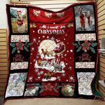 All I Want For Christmas Is Alpacas Blanket TH1909 Quilt