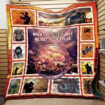 When Life Gets Blurry Camera Blanket TH1909 Quilt