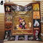 Beware The Wicked Witch Family Blanket TH1909 Quilt
