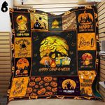 Happy Campoween Camping Blanket TH1909 Quilt